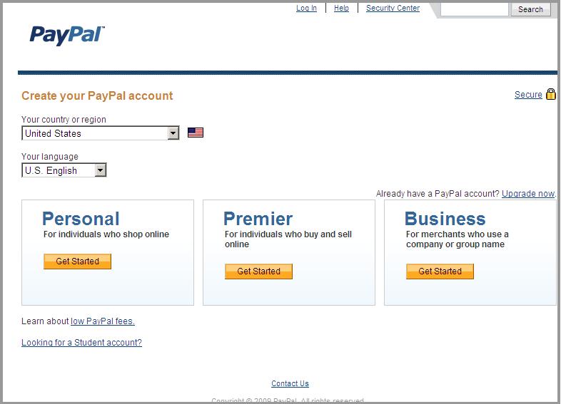 PayPalSetup