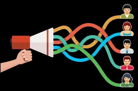 Proporcione a sus destinatarios la posibilidad de compartir ofertas con sus amigos y seguidores