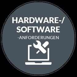 Hardware-/Software-Anforderungen