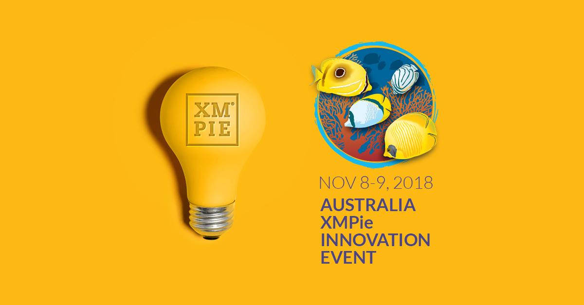Australia XMPie Innovation Event